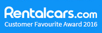 Rentalcars.com - Customer Favourite Award 2016